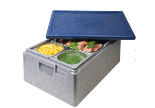 Thermo Future Box Thermobox Gastronorm 1/1 | Gris Bleu | 46 L