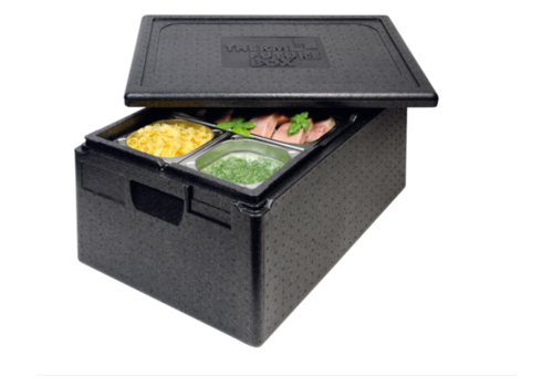 Thermo Future Box Thermobox Gastronorm 1/1 | Noir | 39 L
