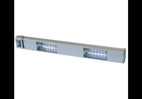 Roband Lampe Chauffante à Quartz | 2 Lampes Integrées/ 700W | Dim. 900mm | avec Intérrupteur