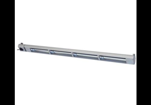 Roband Lampe Chauffante Infrarouge | 1800W | Dim. 1800mm | avec Intérrupteur