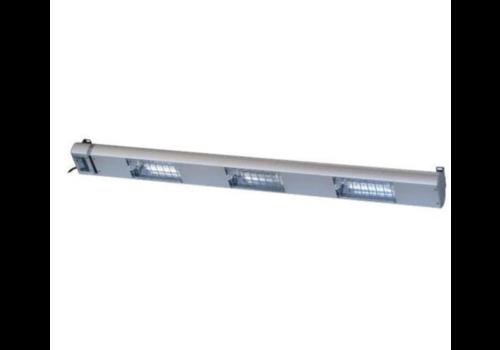 Roband Lampe Chauffante à Quartz | 3 Lampes Integrées/ 1050W | Dim. 1200mm | avec Intérrupteur