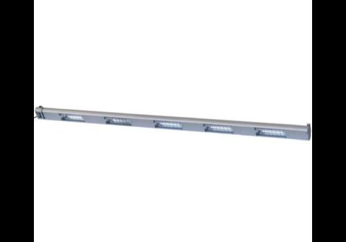 Roband Lampe Chauffante à Quartz | 5 Lampes Integrées/ 1750W | Dim. 2100mm | avec Intérrupteur