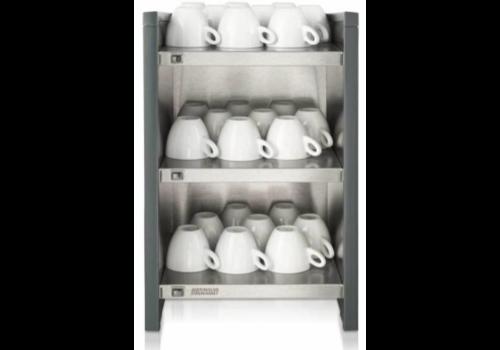 Bravilor Bonamat Chauffe-tasse| WHK | 3 couches | Pour les tasses à café et les tasses 349x400x542 mm