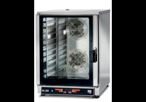 L2G Four Électrique Mixte Programmable   Inox   L-840xP-910xH-1150mm   10 GN1/1 ou L600xP400mm   12,7 kW