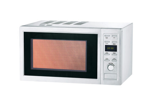 L2G Four à Micro-Ondes Professionnel en Inox | L-483xP-396xH-281mm | 900W | 25L
