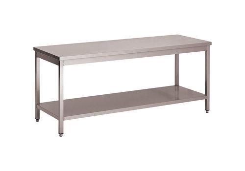 L2G Table Démontable Centrale en Inox   P-600xH-850mm  