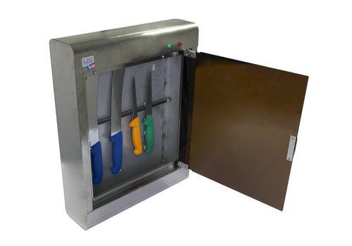 L2G Armoire de Stérilisation en Inox | L-350xP-125xH-590mm | 10 Couteaux |