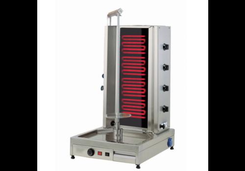 L2G Machine à Kebab electrique | Inox | 530x1070x650mm | 7,2 kW