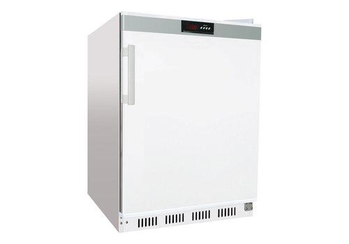 L2G Armoire Réfrigérée Blanche 1 Porte Pleine | L-600xP-585xH-855mm | 200L | R600a