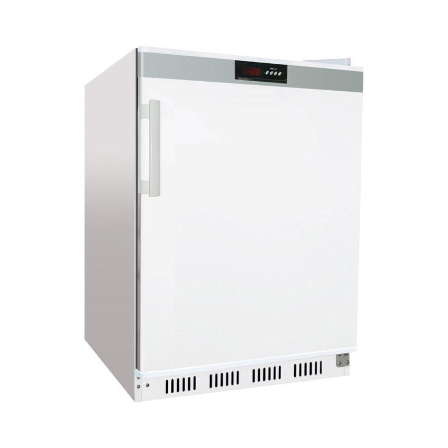 Armoire Réfrigérée Blanche 1 Porte Pleine | L-600xP-585xH-855mm | 200L | R600a