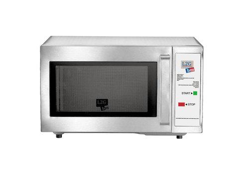L2G Four Micro-Ondes en Inox | L-520xP-456xH-312mm | 1 kW | Mono-Touche