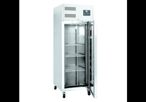 L2G Armoire Réfrigérée Négative | Inox | L-740xP-830xH-2010mm | Porte Pleine | 650L | -18°C/-22°C | 4 Roues/2 Freins | R290
