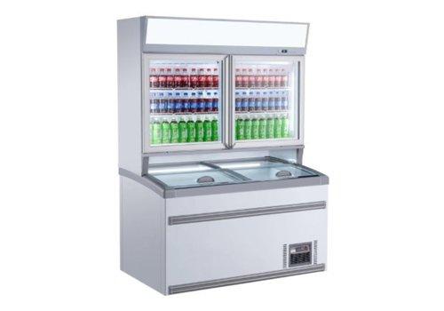 Combisteel Réfrigérateur Libre Service Haut | 1454x890x(H)2000mm