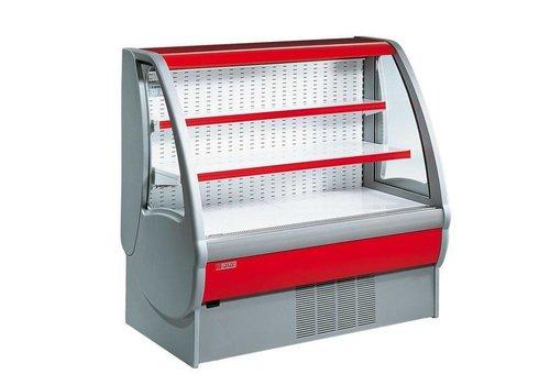 Oscartielle Meuble Réfrigéré | avec Rideau de Sécurité | Disponible en 3 Tailles