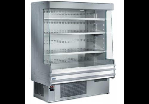 Diamond Meuble Réfrigéré | Libre Service | Gris | +3/+6°C | avec Eclairage | Disponibles en 3 Largeurs | 1000x750x(h)1820