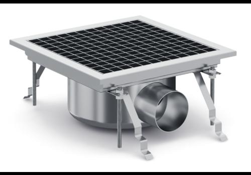 ProChef Caniveau de sol / 30*30*19,5 cm / En acier inoxydable