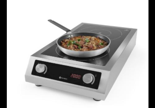 Hendi Plaque de cuisson à induction | 405x698x(h)145 mm