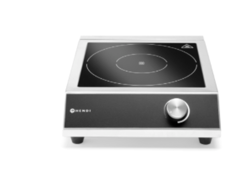 Hendi Plaque de cuisson à induction modèle 3500 M | 3500W | 230V | 327x425x(h)100 mm
