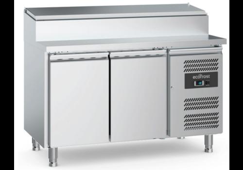 Ecofrost Conteneur saladette | 2portes | 6x1/3GN