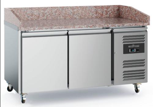 Ecofrost Table de préparation pour pizza | 949x580x564