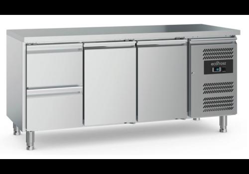 Ecofrost Table réfrigérée | 1234x580x564