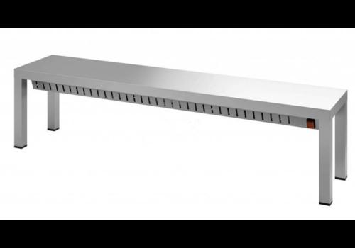 Combisteel Etagère chauffante | 1000x300x350 mm