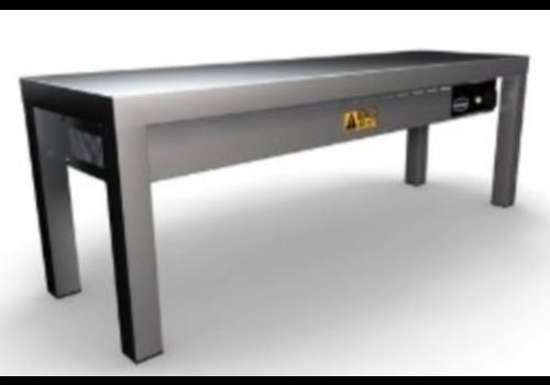 Combisteel Étagère chauffante | Céramique | 300x(H)350mm