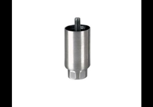 ProChef Pied réglable   H 100mm    M12x19   ø Tube : 50 mm