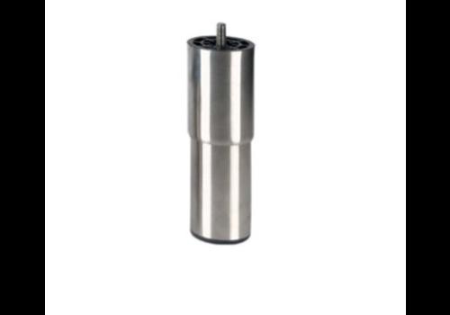 Pied réglable inox   H 205mm