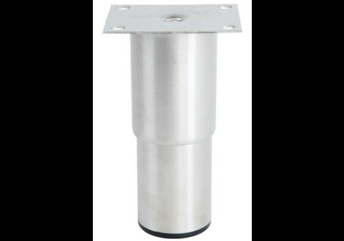 Pied en inox   H 152mm -100x80