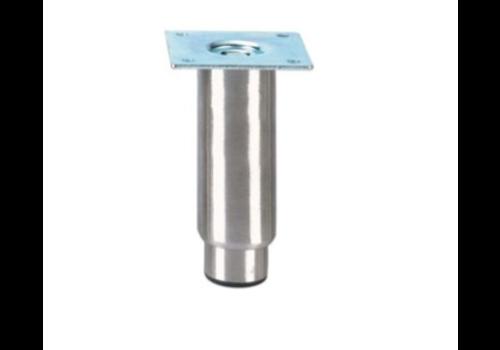 Pied réglable inox   H 150mm - 89x89mm