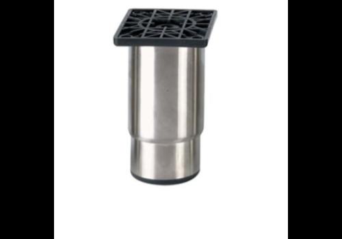 Pied réglable ecoline   H 145mm -100X80mm