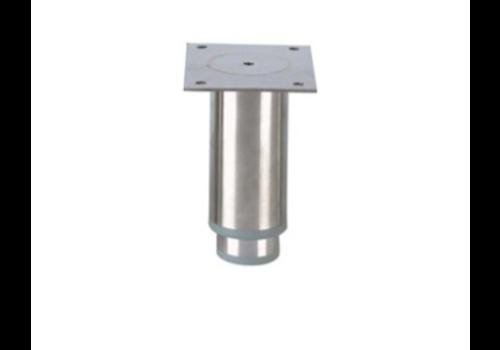 Pied réglable ecoline   H 125mm- 102x82mm