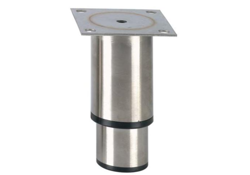 Pied réglable inox   H 145mm - 90x90mm
