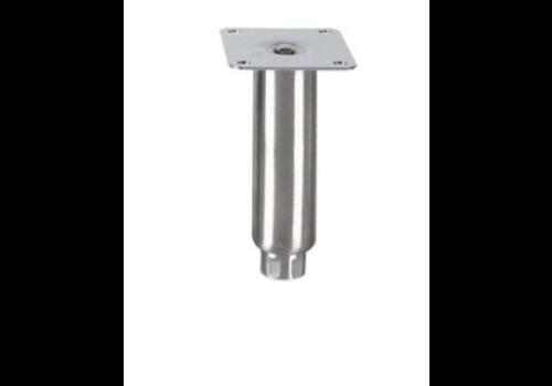 Pied réglable   150MMH   Ø Tube :41mm   MP1/SS