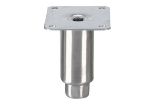Pied reglable   100mmh   M12  Ø Tube : 41mm