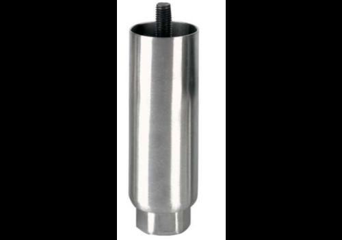 Pied reglable   150mmh   M12x19   Ø Tube : 50mm