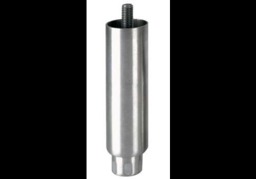 Pied réglable   100mmh   M12x19   Ø Tube : 41mm