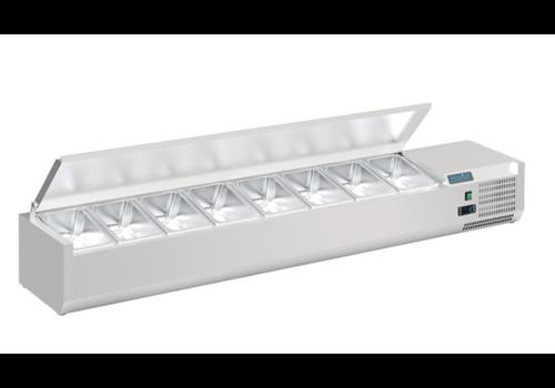 Polar Réfrigérateur de comptoir | Série G | 8x GN 1/4