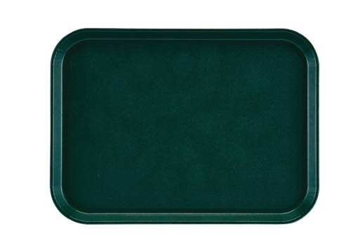 Cambro Plateau rectangulaire antidérapant en fibre de verre EpicTread vert