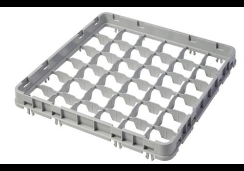 Cambro Extension mi-profondeur pour casier à verres | 36 compartiments