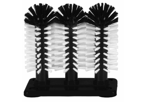 ProChef Brosse de Rinçage | Plastique | 3 Brosses | 3x180mm