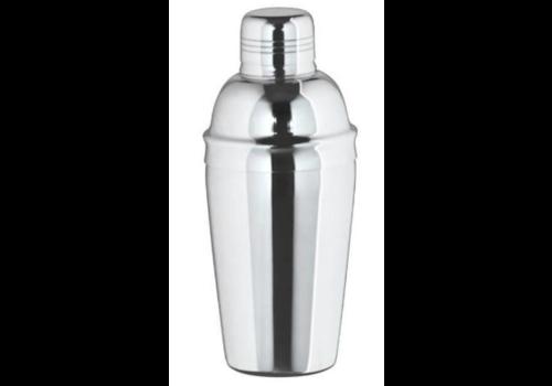 Bar Professional Shaker à Cocktail   3 Pièces   Brillant   0,5 L