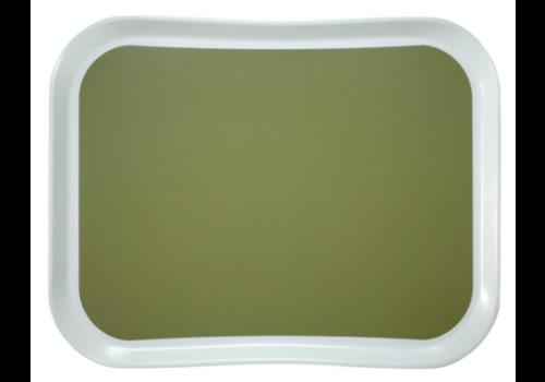 Cambro Plateau en polyester Century Fun Versa Lite vert sauge | 430mm