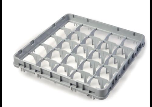 Cambro Extension mi-profondeur pour casier à verres | 25 compartiments