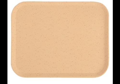 Cambro Plateau en polyester Versalite moka moucheté | 43 cm