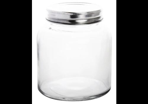 Bocaux à conserves en verre avec couvercle à visser   330ml