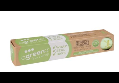 Emballages alimentaires réutilisables 3 en 1   200 x 200mm et 300 x 300mm   lot de 4