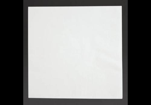 ProChef Serviettes snacking 2 plis pliage 1/4 | 330mm blanches | lot de 2000