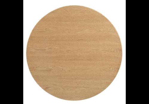 Bolero Plateau de table rond pré-percé coloris frêne naturel | 600mm